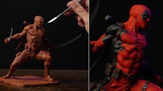 Sculpting DEADPOOL | Comics Version (Timelapse)