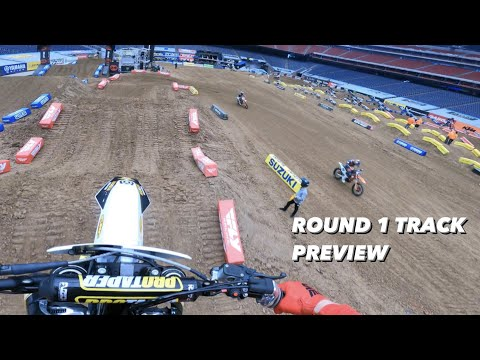 HOUSTON SX 2021 TRACK PREVIEW (ROUND 1)