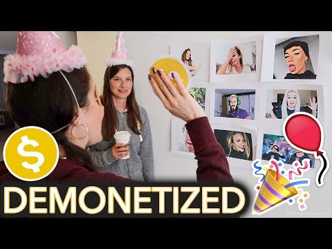 Throwing Myself a Children's Birthday Party (ft. ~Demonitize The YouTuber~ game)
