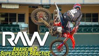 Anaheim 2 Supercross Practice RAW - Motocross Action Magazine