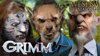 ALL the Wesen Creatures From Season 2 | Grimm