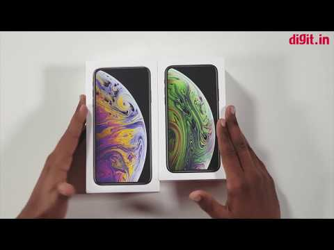 [Hindi   हिन्दी] Apple iPhone XS & XS Max Unboxing & First Look