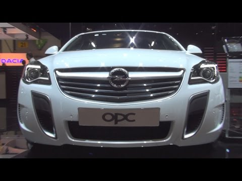 Opel Insignia Limousine OPC 2.8 V6 Turbo 4x4 ECOTEC 239 kW (2016) Exterior and Interior in 3D