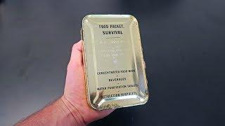 1954 SA-4 Ration Survival Food Packet MRE