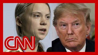 Trump mocks Greta Thunberg on Twitter