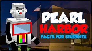 World War II History: Why did Japan attack Pearl Harbor? Facts for Students (Educational Cartoon)