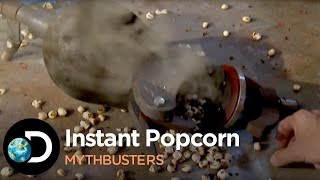 How To Make Instant Popcorn   Mythbusters