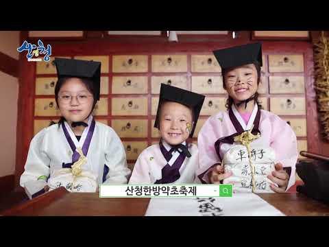 제20회 온라인 산청한방약초축제 홍보영상 유튜브