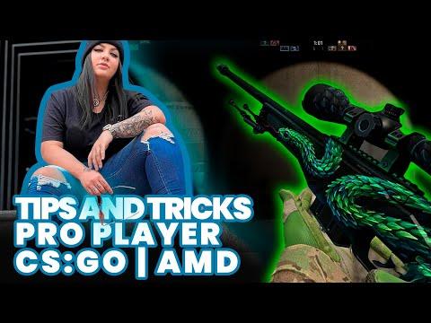 DICAS DE TREINO para COMPETITIVO no CS:GO   Pro player AMD