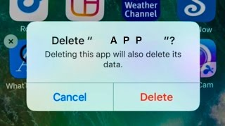 How to Uninstall Apps in iPhone 7 iPhone 6 iPhone 5 iPhone 4s iPhone 6s plus