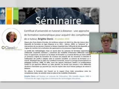 Thumbnail for Conférence de Brigitte DENIS