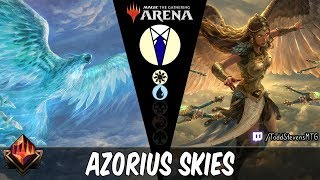 Azorius Skies: Sephara's light shining down on the flyers