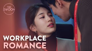 Suzy and Nam Joo-hyuk sneak some flirting into the workplace | Start-Up Ep 16 [ENG SUB]