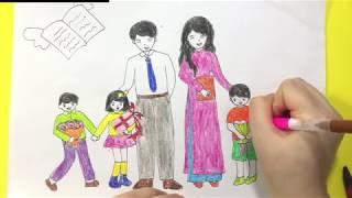 Vẽ Tranh Đề Tài Nhà Giáo Việt Nam 20-11