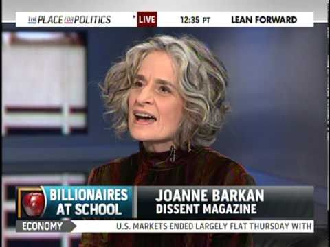 Joanne Barkan on How Billionaires Rule Our Schools - YouTube