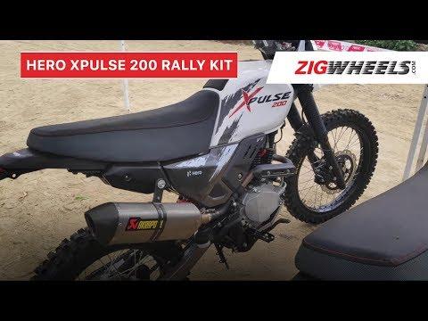 Hero XPulse 200 Rally Kit Walkaround Review | Top speed, exhaust, suspension & more