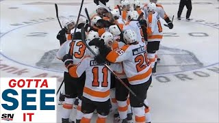 GOTTA SEE IT: Flyers' Ivan Provorov Nets Double OT Winner Against Islanders In Game 6