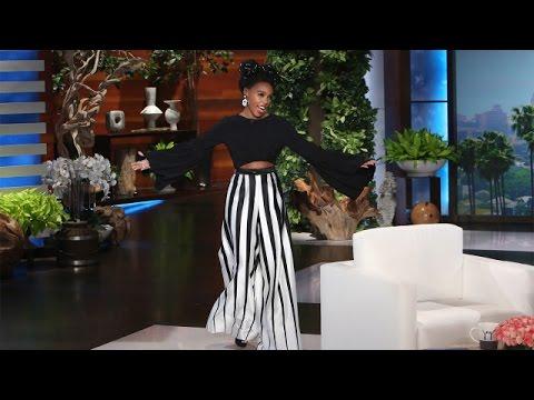 The Marvelous Janelle Monáe Joins Ellen