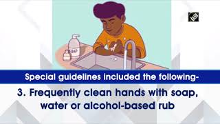 WHO issues guidelines for people taking care of patients a..