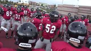 Pre Game Team Chants Eaglecrest Raptors Football