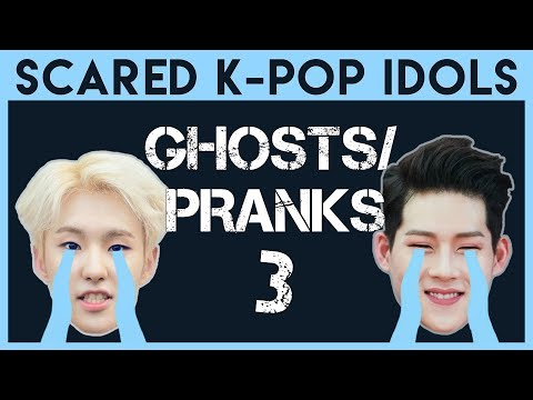 Scared K-Pop Idols: Ghosts & Pranks 3