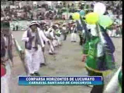 Carnavales en Santiago de Chocorvos 3° parte