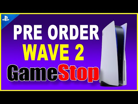 PS5 Pre Order Wave 2 at GameStop and Other Retailers