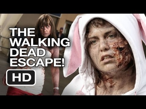 The Walking Dead Escape - Zombie Run Comic-Con 2013 - Alison Haislip