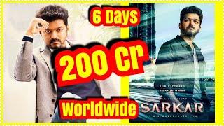 Sarkar Movie Crosses 200 Crores Worldwide In 6 Days