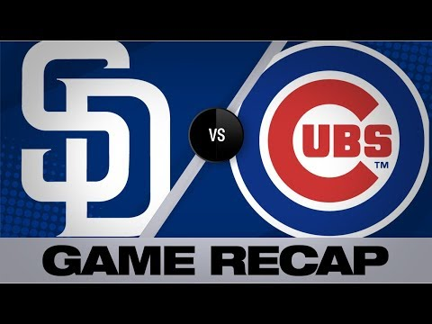 Tatis' 3 RBIs, Quantrill lead Padres | Padres-Cubs Game Highlights 7/21/19