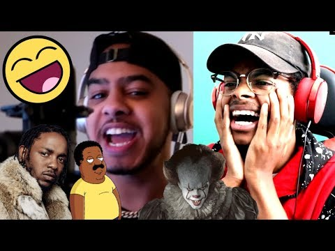 FUNNIEST RAP EVER | Hit Rap Songs in Voice Impressions! (SICKO MODE, Mo Bamba, Bleed) | Reaction