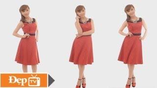 """5 kiểu váy cho cô nàng """"eo bánh mì"""" - Le Media JSC [Official]"""