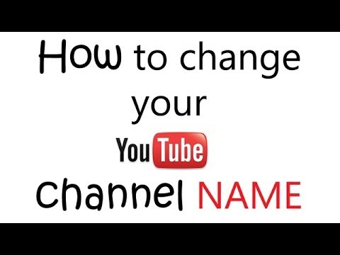 how do i change the name of my iphone how to change channel name display name new jan 21281