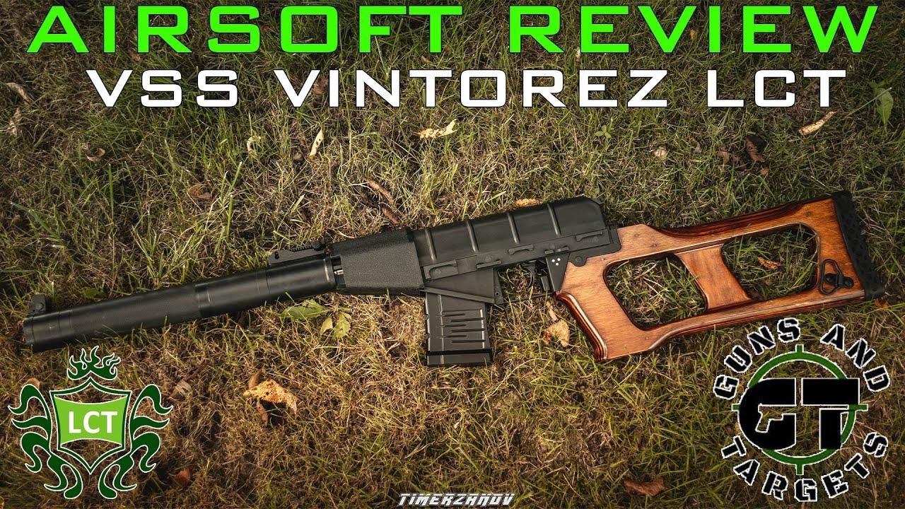 Airsoft Review #96 VSS Vintorez LCT AEG (GUNS AND TARGETS)