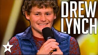Stuttering Comedian Drew Lynch Makes It To Finals   All Performances   America's Got Talent