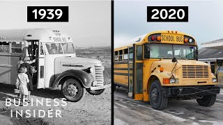 Why Do School Buses Still Look The Same?
