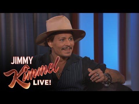 Johnny Depp was a Telemarketer