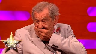 Sir Ian McKellen & Dame Judi Dench Sat In The Queen's Throne! | The Graham Norton Show