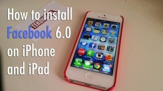 Facebook 6.0 for iPhone and iPad with Chat Heads