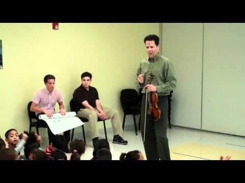 Naples Philharmonic Concertmaster, Glenn Basham, Visits Guadalupe
