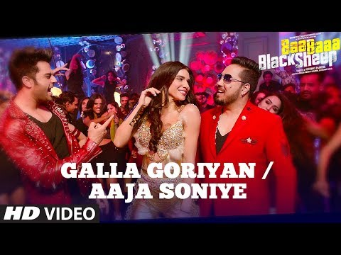 Gallan Goriyan by Mika Singh, Kanika Kapoor - Baa Baaa Black Sheep - Full Song