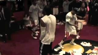 Miami Heat Partying after win