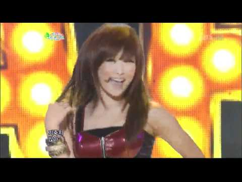 [sbs 인기가요] 카라 - 스텝, Kara - STEP 641회 2011년10월2일 일요일