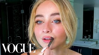 Sabrina Carpenter's Guide to DIY Facials and Perfect Eyeliner   Beauty Secrets   Vogue
