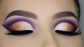 Ombre Cut Crease tutorial - Makeupbyan