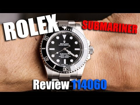 video Rolex Submariner No Date – 114060 (Black Dial)