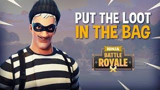 """Put The Loot In The Bag!"" 25 Frag Fortnite Battle Royale Gameplay - Ninja & FearItSelf"
