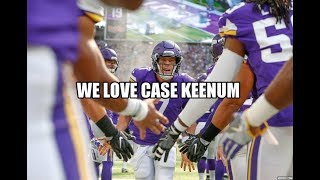 case keenum vs bucs highlights
