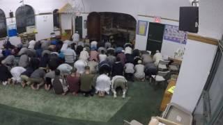 صلاة التهجد / الجمعة 21 رمضان 1438 / مركز بروكلين الاسلامى     -