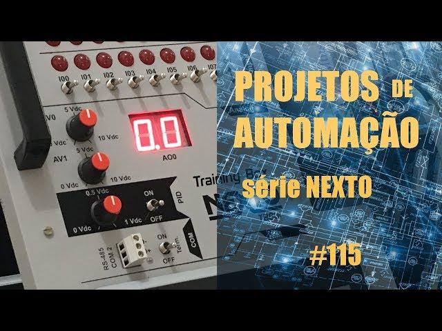 AUTOMAÇÃO DE MÁQUINA DE COSTURA INDUSTRIAL COM CLP NEXTO (parte 2) | Projetos de Automação #115